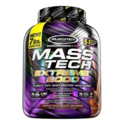 Muscletech MassTech Extreme 2000 7lbs triple chocolate brownie in pakistan